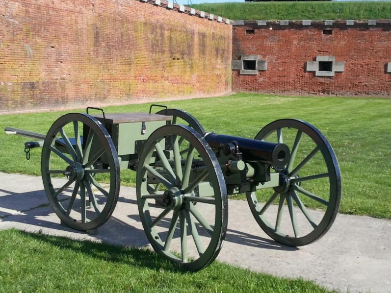 12pdr Mountain Howitzer/Limber for Sale Repro